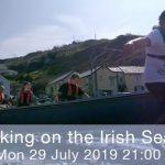 Small World TV Productions Cardiff Taking on the Irish Sea rowing sailing
