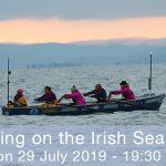 Small World TV Productions Cardiff Taking on the Irish Sea rowing sailing CELTIC CHALLENGE